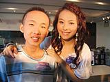 Felix Wong award winner, Mattew Liu and Canto-pop singer, Stephy Tang