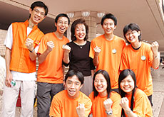 Executive Director & Youth Volunteers