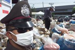 Police drug haul