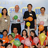 Mr Jeff Walker (second from left) Mr Paul Tang (black shirt)