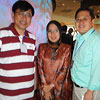 Gary Tang [left] and Felix Chung [right] are meeting the CEO of SME Corp. Malaysia, Y. Bhg. Dato' Hafsah Hashim