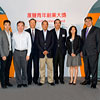 From left, Mr Ray Chung,, Dr David YK Wong, JP,  Mr Albert Chan, The Hon Ronald Joseph Arculli, GBM, GBS, JP The Hon Andrew Leung, GBS, JP, Miss Shirley Yuen Mr Lester Huang, JP