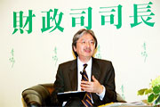 Mr John Tsang, Financial Secretary