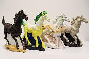 Xu Beihong horses