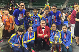 Ho Fung College at Odyssey of the Mind 2015 World Finals