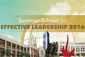 Summer School for Effective Leadership 2016