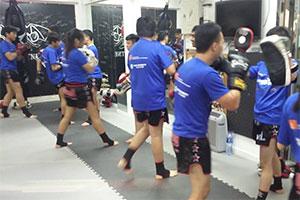 Thai boxing with K&K Charity Ltd