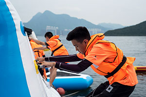 HKFYG Jockey Club Community Team Sports Canoe Training Programme