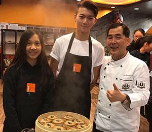 Chef Alan Lee at HKFYG Jockey Club Shaukeiwan Youth SPOT