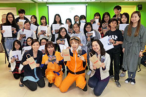 Creative Comic Painting Workshop with Pentel